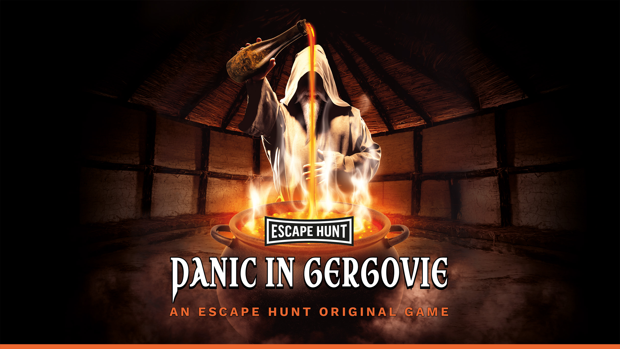 Escape Hunt Clermont Ferrand - Escape Game Clermont Ferrand Panic in Gergovie English