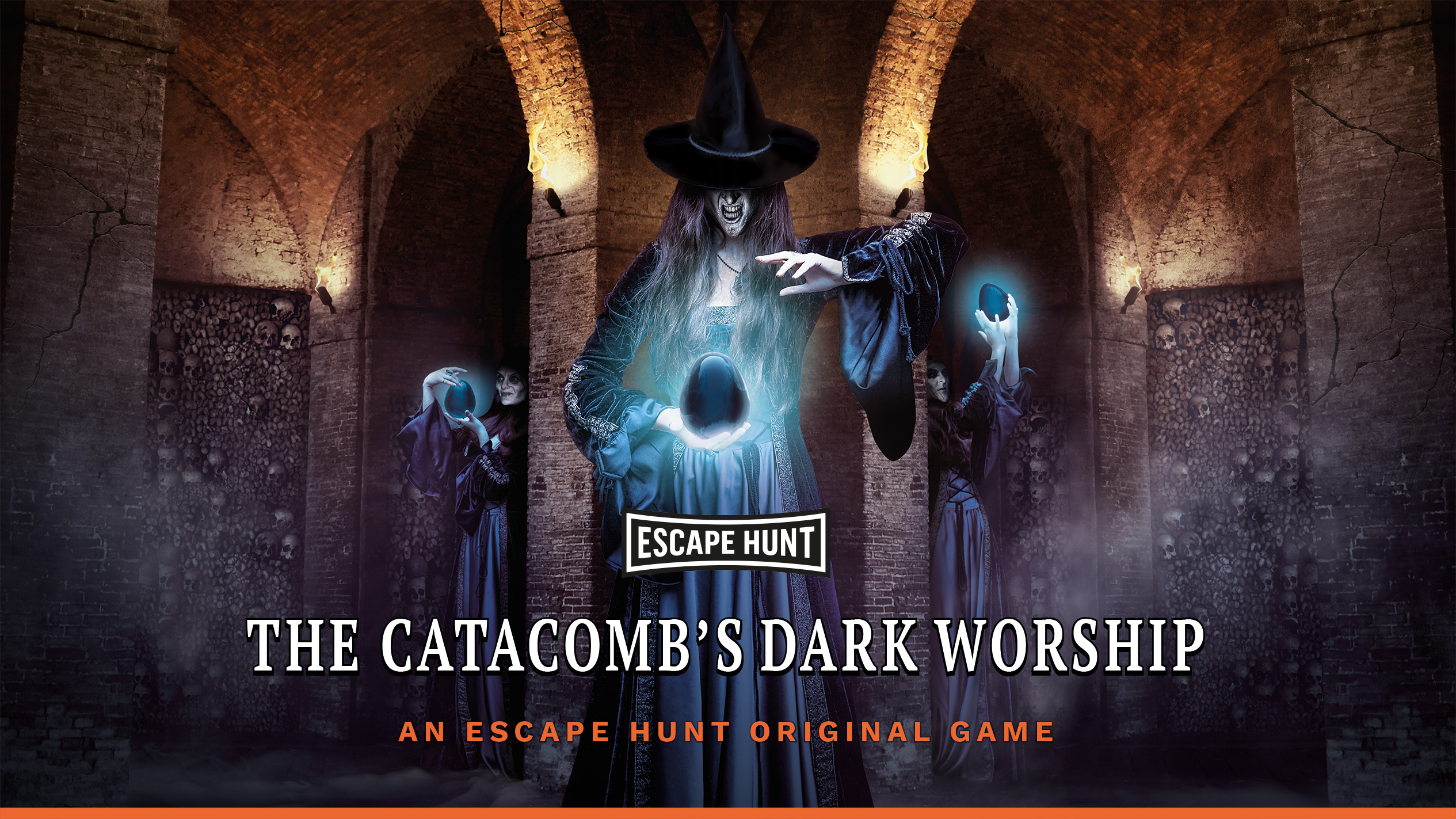 Escape Hunt Clermont Ferrand - Escape Game Clermont Ferrand The Catacomb's Dark Worship