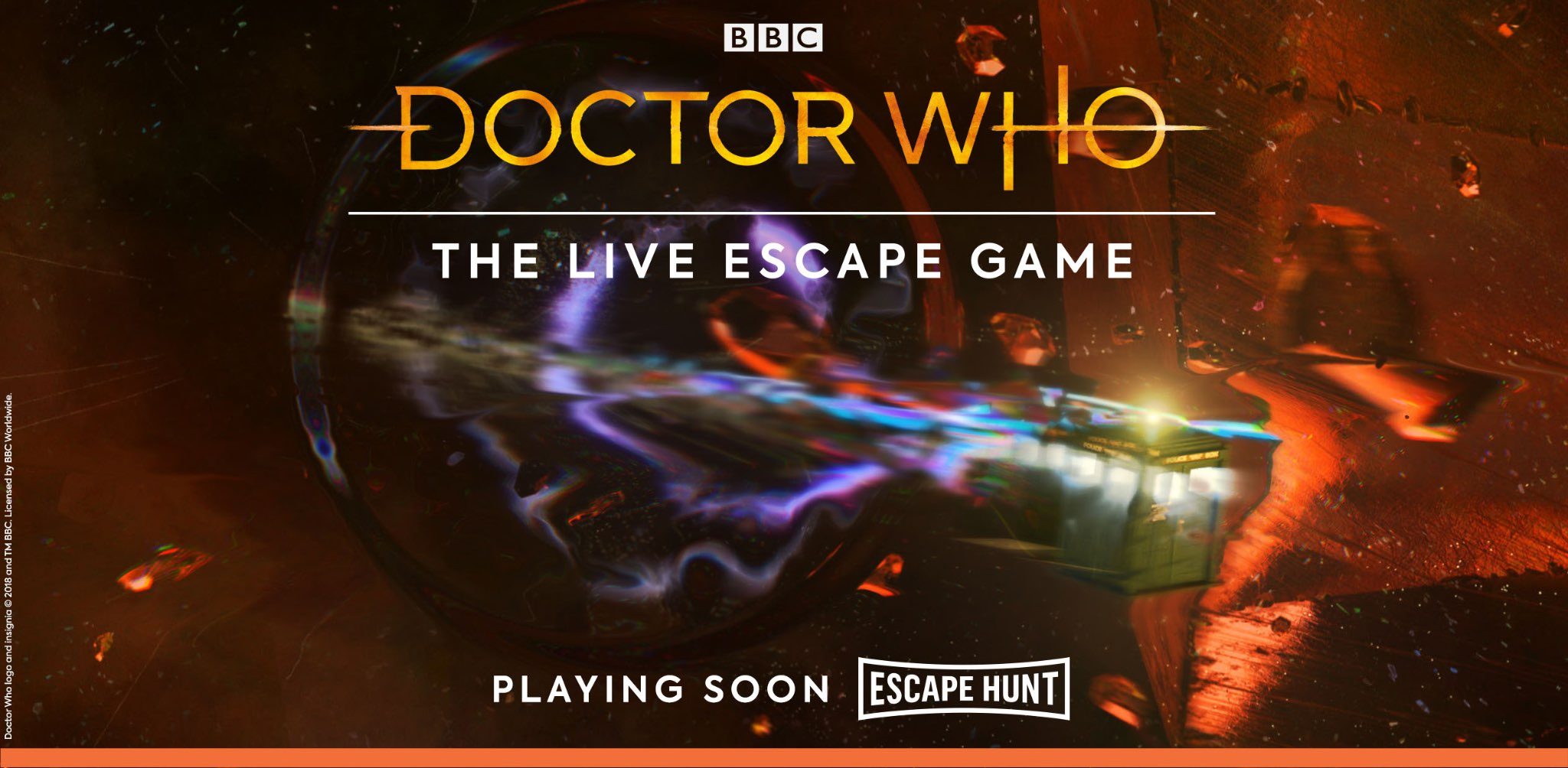 Doctor Who the live escape game. Eho-doctorwho-2x