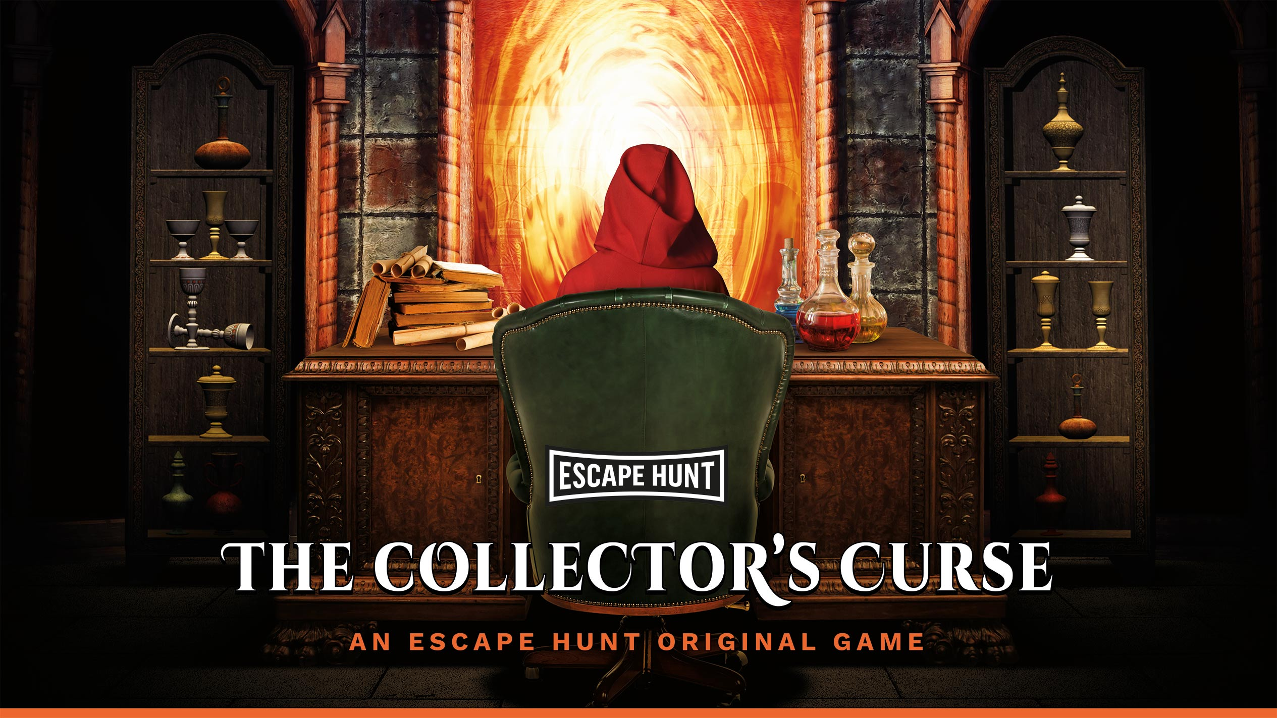 The Collector's Curse - Live Escape Room Game | Escape Hunt Adelaide