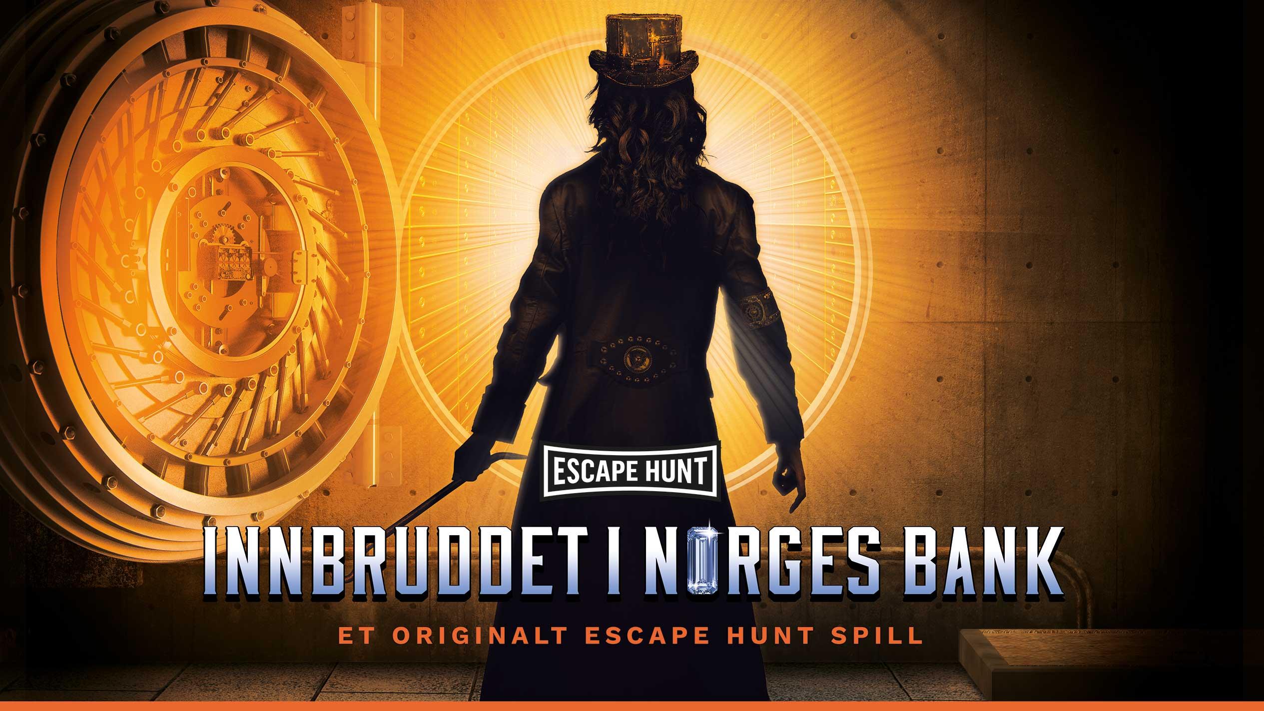 Escape Room Oslo sentrum Escape Hunt Innbruddet i Norges Bank