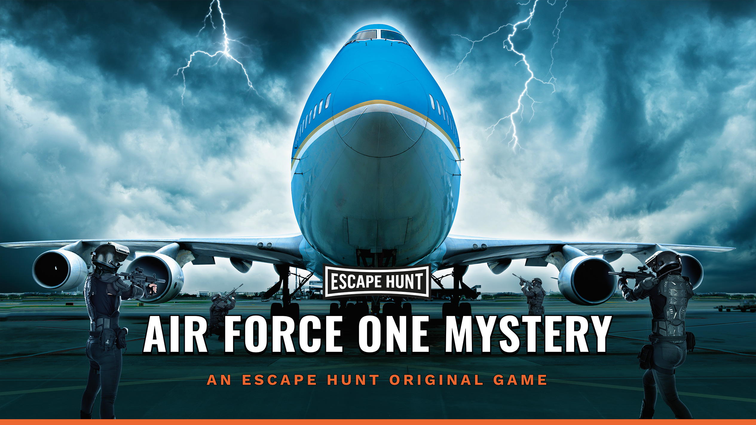 Air Force One mystery - Escape Game | Escape Hunt Lille