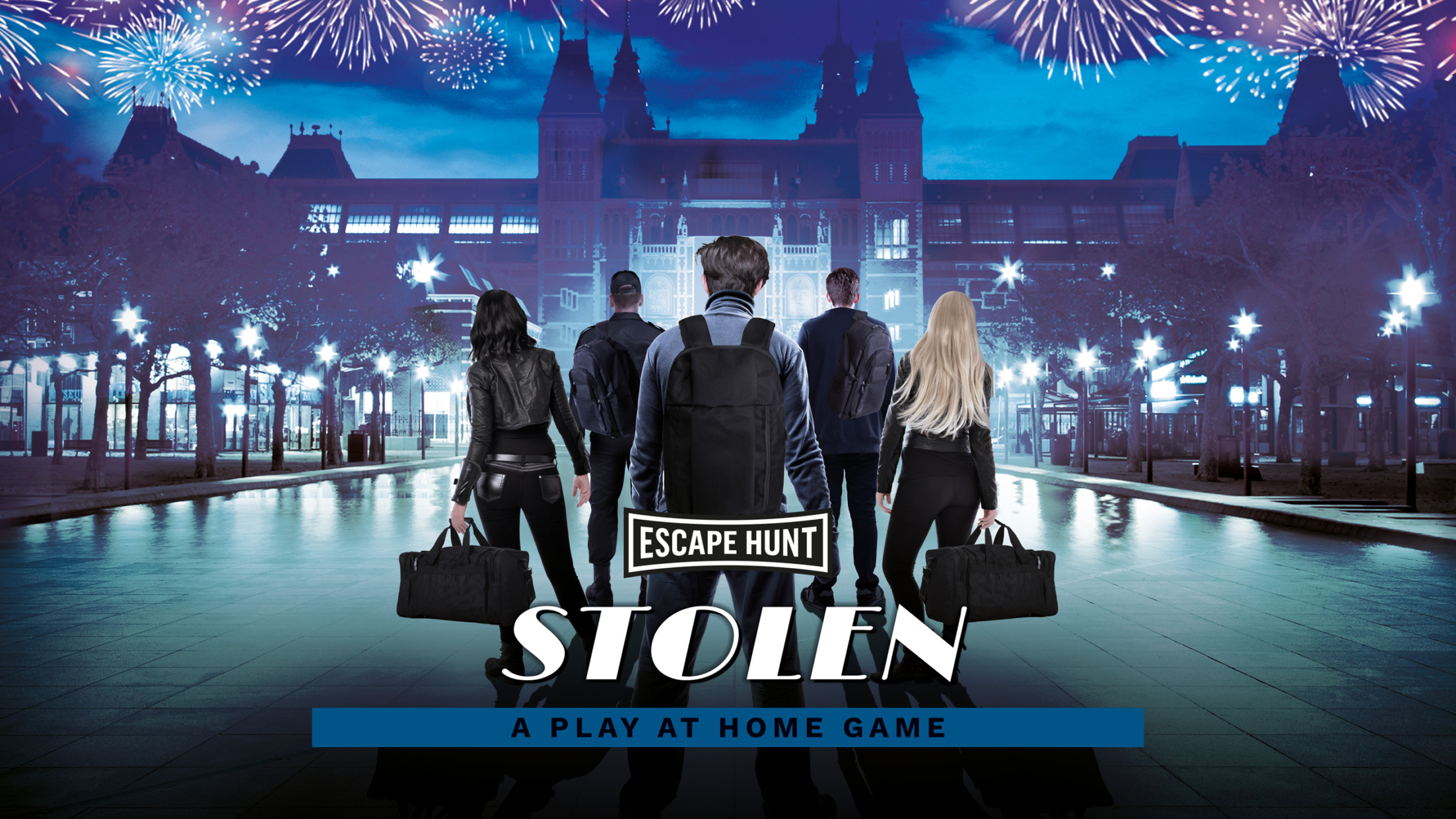 STOLEN – NEW PLAY AT HOME ESCAPE ROOM GAME!