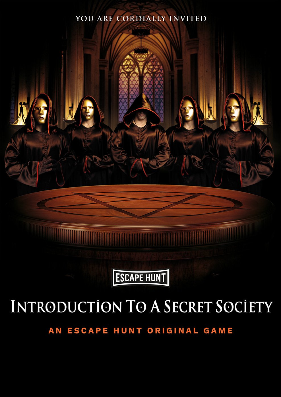 INTRODUCTION TO A SECRET SOCIETY - Live Escape Room Game