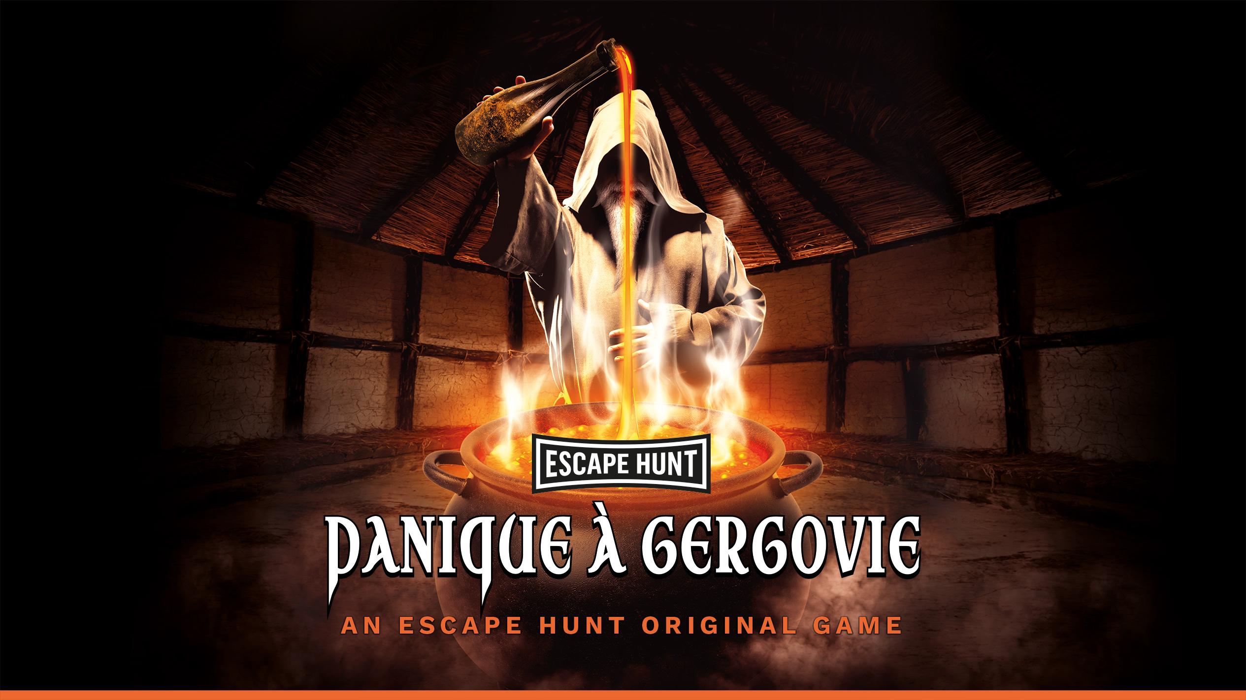 Escape Hunt Clermont Ferrand - Escape Game Clermont Ferrand Panique A Gergovie