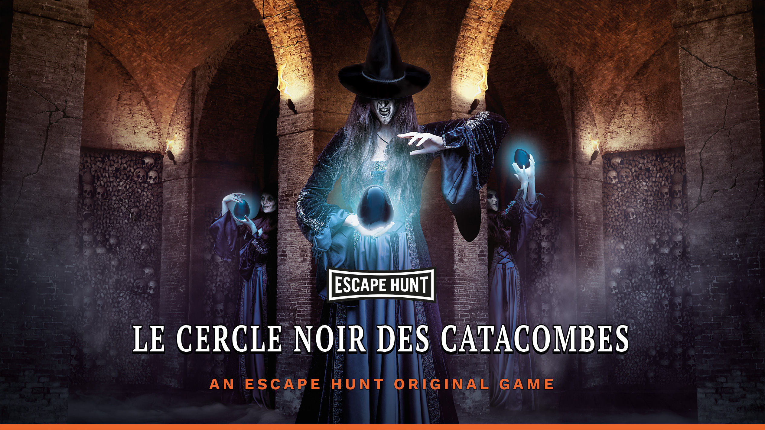Escape Hunt Clermont Ferrand - Escape Game Clermont Ferrand Le Cercle Noir Des Catacombes